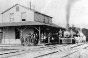 Rosman Train Depot 1895